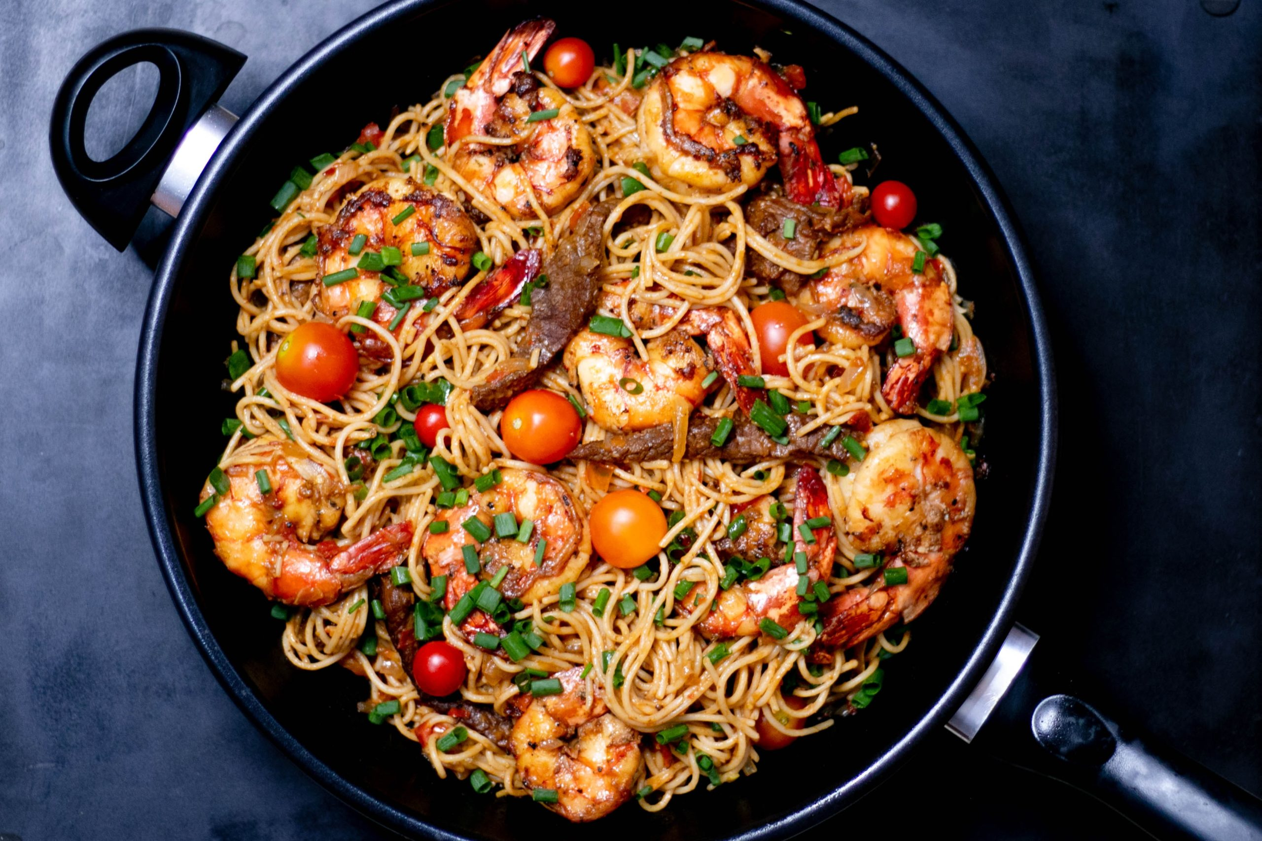 How to Cook Shrimp for Pasta