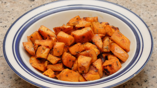 How to Cook Yams in the Oven