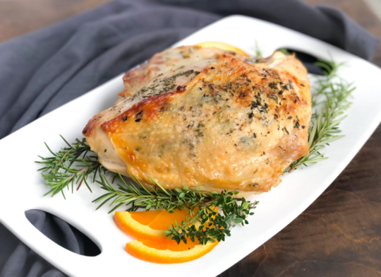 How to Cook a Bone-In Turkey Breast (2)