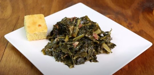 How Long to Cook Collard Greens.....