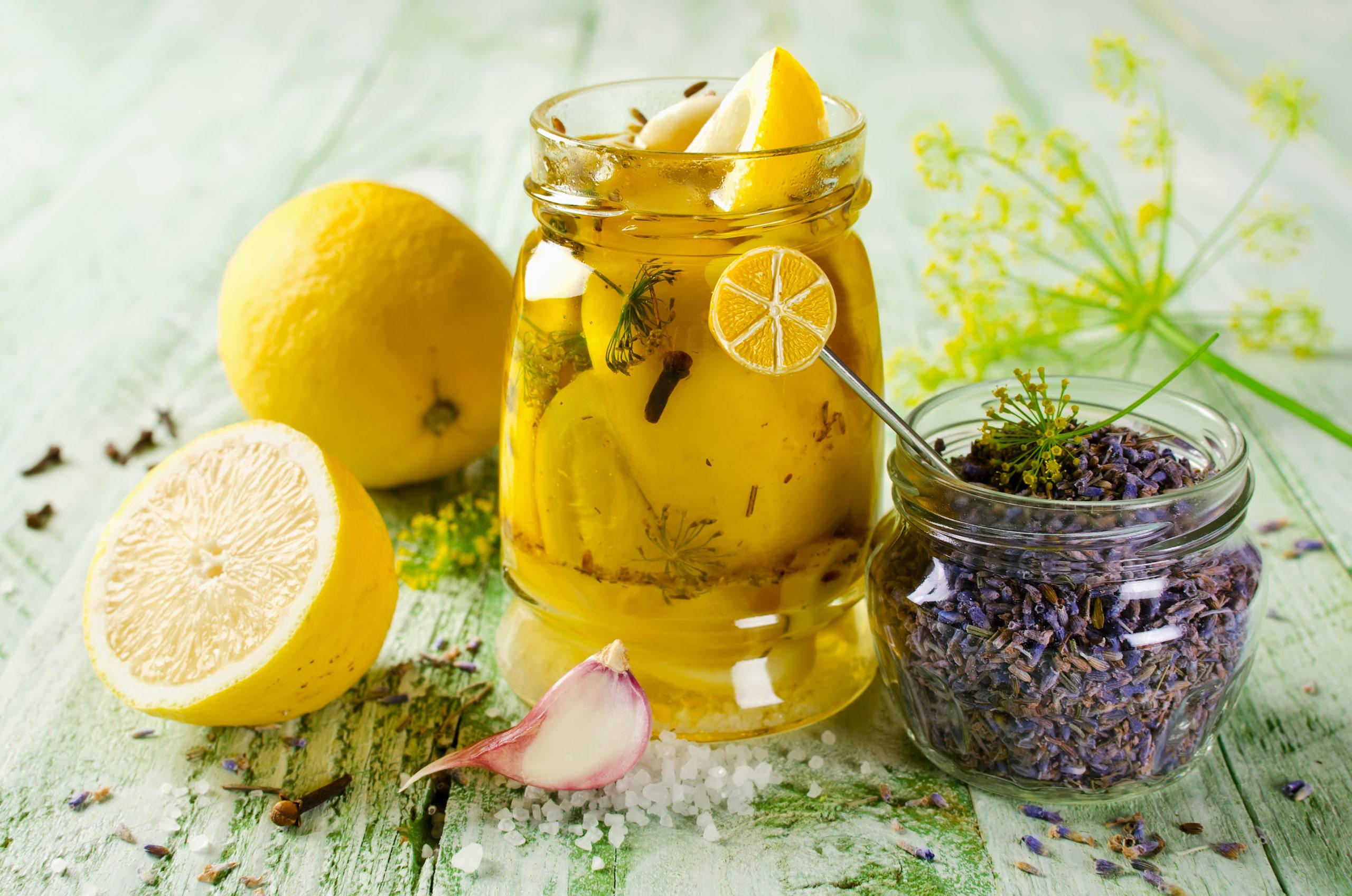 Substitute for Preserved Lemon